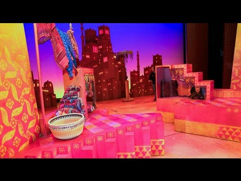 'Aladdin' the Musical: The magic of movement
