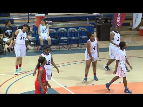 2015 CUNYAC Championship - Women's Basketball Semi-Finals: Queensborough vs. Hostos CC