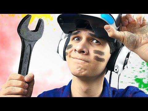 СИМУЛЯТОР МЕХАНИКА в PlayStation VR!