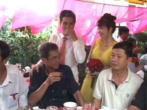dam cuoi mien tay chu re ThanhLuan hat tang co dau MyLinh tai DongThap dia2 p3 12.10.2014