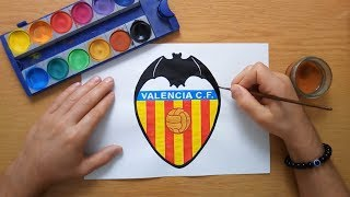 Cómo Dibujar El Logo De Valencia C F How To Draw The Valencia C F Logo Youtube