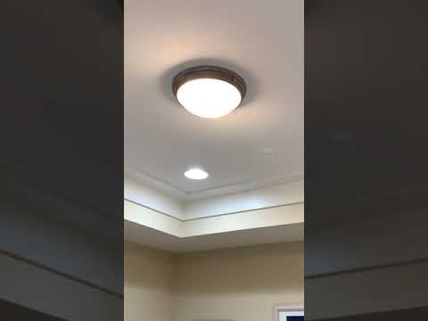 FISHY Smell Coming From The Dome Ceiling Light Fixture Burning