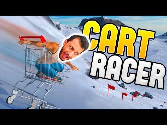 سباق عربة التسوق | أصعب سباق في العالم! Cart Racers