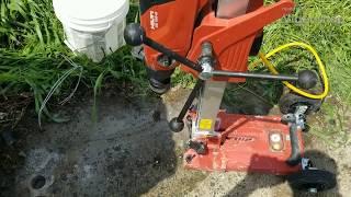 Home Depot Hilti DD 150 U concrete drill