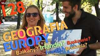 GEOGRAFIA EUROPY (Poszukiwacz) odc. #128 MaturaToBzdura.TV