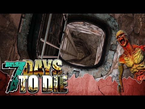 7 Days to Die ~ Ep 9 ~ Bunker Building!