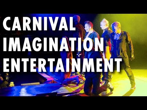 Carnival Imagination Tour & Review: Entertainment ~ Carnival Cruise Line ~ Cruise Ship Review