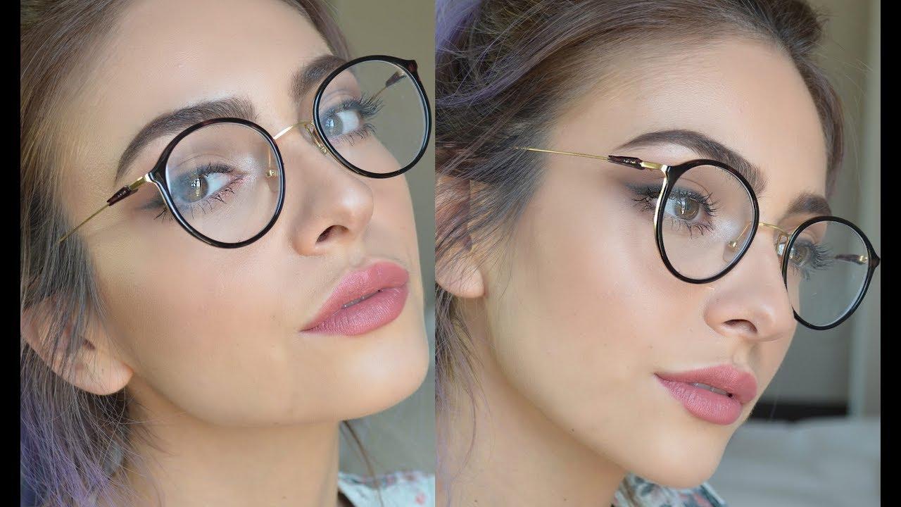 2bb846912a Maquillaje para gente con lentes   Anna Sarelly - YouTube