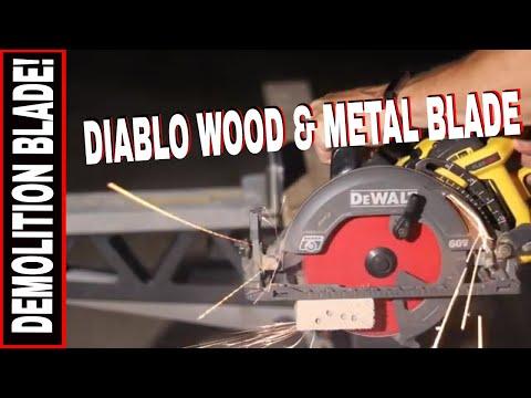 "NEW CIRCULAR SAW BLADE FOR STEEL & NAILS!!  DIABLO 7-1/4"" x 36.  Model D0736GP"