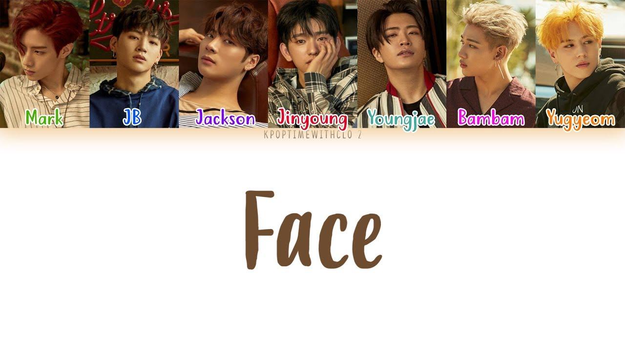 Got7 Face Lyrics Color Coded Hanromeng Youtube