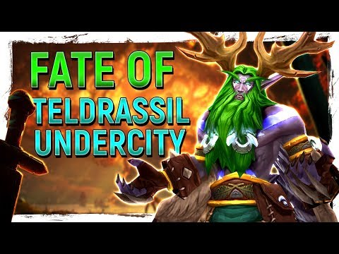 FIRE & BLIGHT: The Aftermath Of Teldrassil & Undercity - How They Actually Work In Game