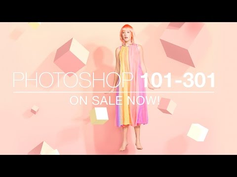 Photoshop 101-301 Trailer - The Ultimate Masterclass on Photoshop
