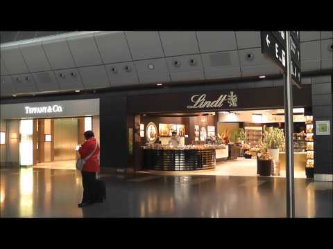 Shops, Duty Free, Snack bars and general views of Zurich Airport, Switzerland