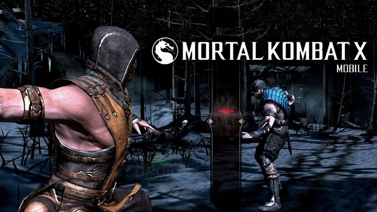 Live Wallpaper Iphone X Not Working Mortal Kombat X Ios Android Gameplay Trailer Iphone 6