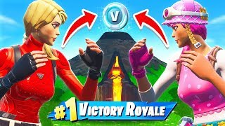 Primeiro a terminar WINS 10.000 VBUCKS! * NOVO * modo de jogo no Fortnite Battle Royale