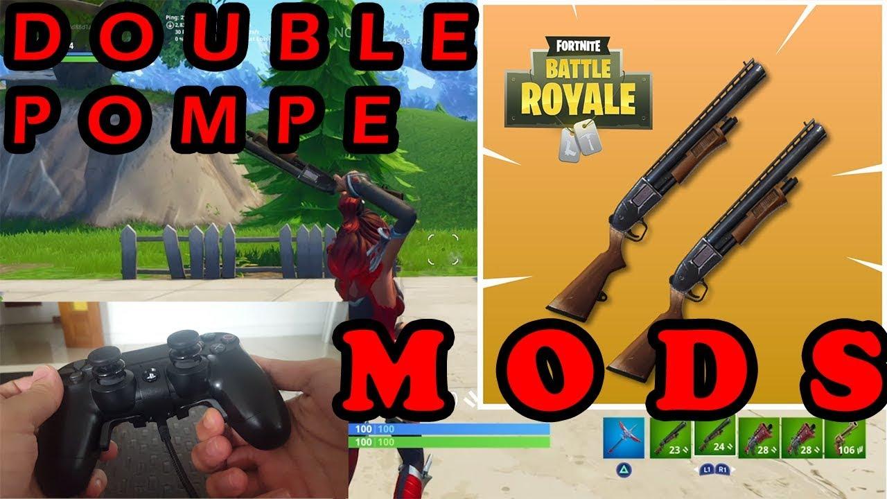 Double pompe mods fortnite avec le strike pack ps4 fr tuto et test youtube - Strike mod pack ...