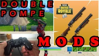 DOUBLE POMPE MODS Fortnite with the STRIKE PACK PS4 EN TUTO and TEST