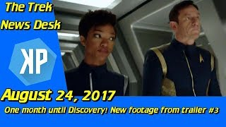 One Month Until Discovery! Trailer #3, DSC merch, and more!