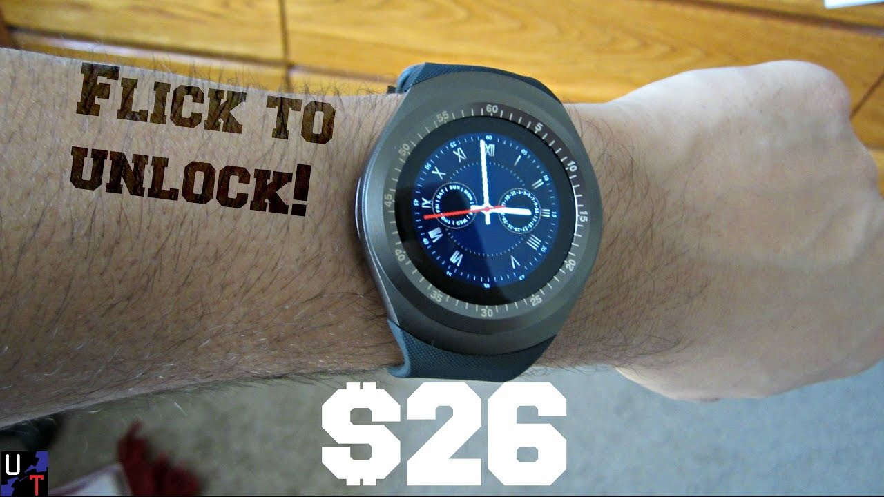 38b0b3004ca Y1 Bluetooth Smartwatch Overview! (Now Under  15!) - YouTube