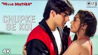 Video Chupke Se Koi - Maine Kyun Pyar Kiya - Hello Brother - Arbaaz Khan & Rani Mukherjee download MP3, 3GP, MP4, WEBM, AVI, FLV September 2018