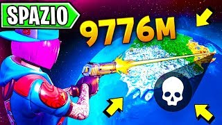 """GLITCH FORTNITE IN THE SPACE """"how to get out of the WORLD"""""""