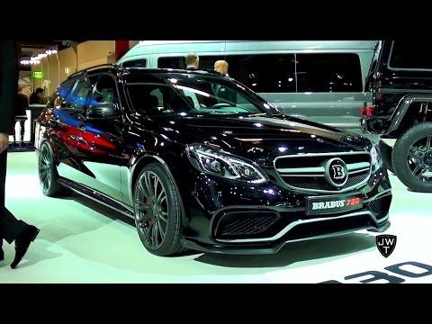 The 730 HP(!) Brabus 730 Mercedes-Benz E63 S Estate! - IAA Frankfurt 2015