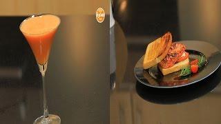 سندوتش دجاج مشوي بتتبيلة الجيلي - عصير التفاح بالجنزبيل    سندوتش وحاجة ساقعة حلقة كاملة