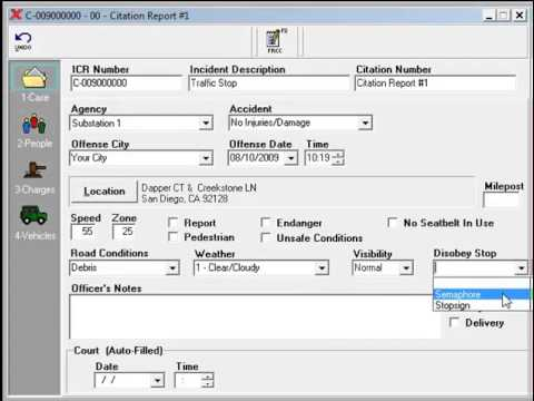 police report writing software