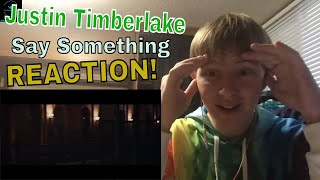 Justin Timberlake - Say Something (Official Video) ft. Chris Stapleton REACTION!