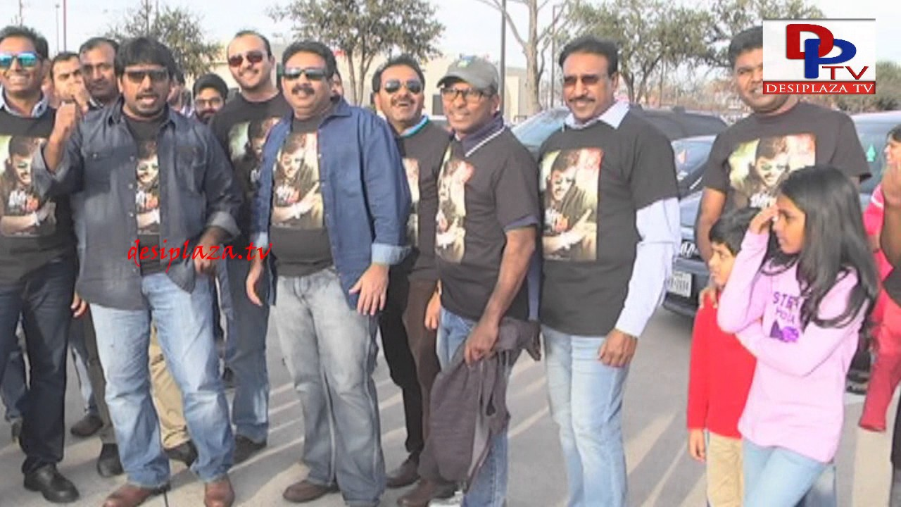 Visuals from Car Rally in Dallas - Khaidi No 150