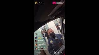 Offset about to go to jail on Instagram live