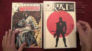 Reading Comics: First Appearances of Bloodshot, Rai #0, Eternal Warrior #4, 1992, Valiant [ASMR]