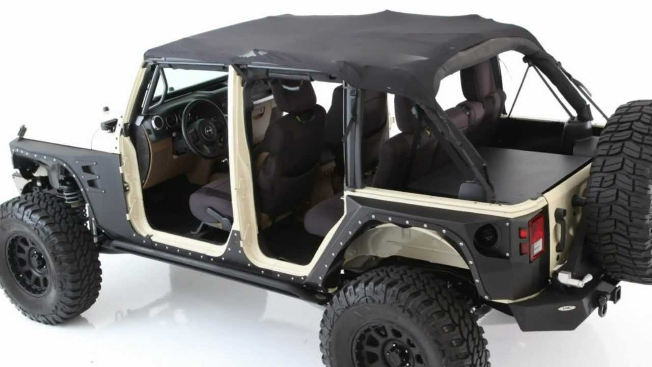 Smittybilt   Mesh Jeep Top   Jeep Tops   Jeep Soft Tops   YouTube