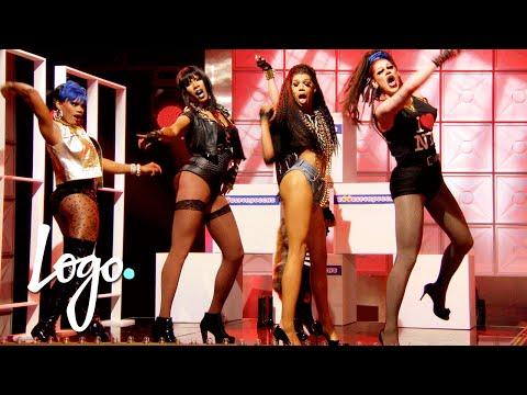 RuPaul's Drag Race (Season 8 Ep.2)   'Bitch Perfect' Drag-Appella Sing Off!!   Logo