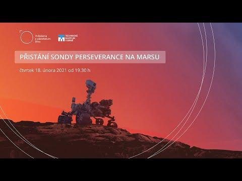 Přímý přenos z Marsu | Mars Perseverance Rover