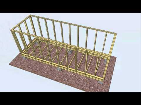 видео: Как построить сарай