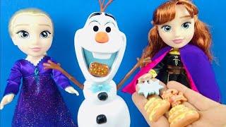 olaf yedigi atistirmaliklari aninda cikaran sihirli oyuncak frozen 2 elsa ve anna bebek konusan olaf