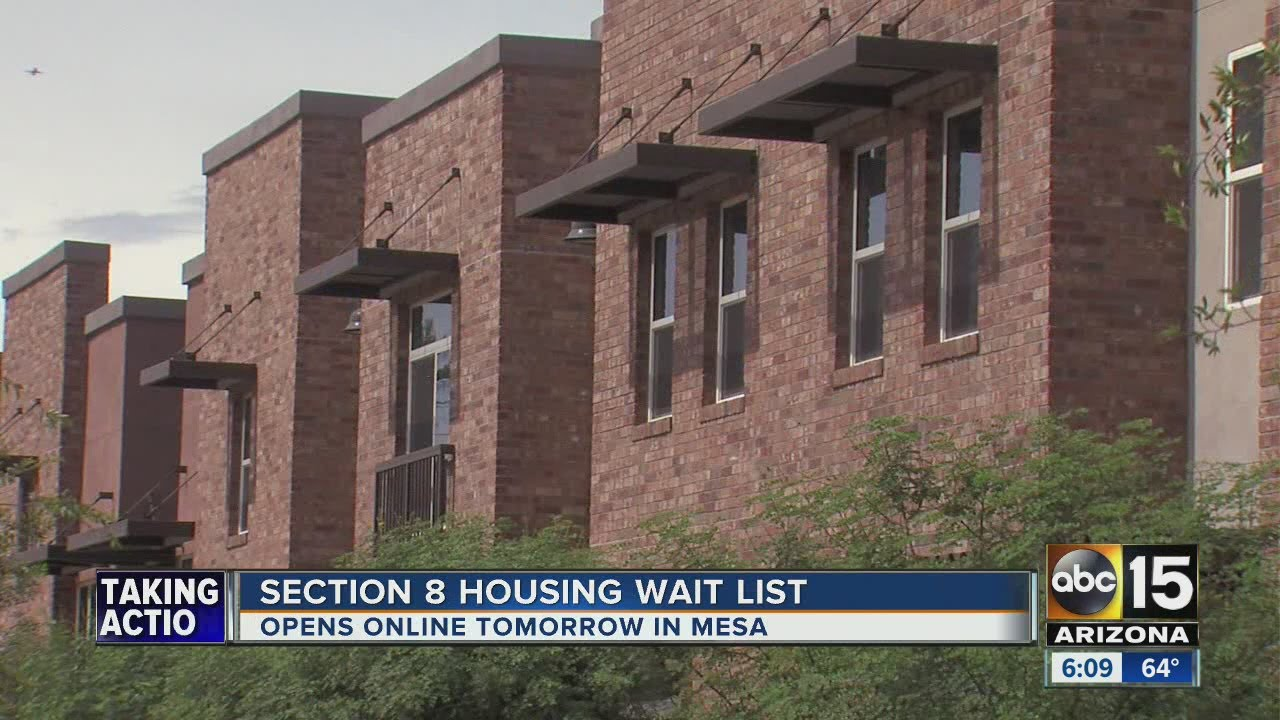 Section 8 housing wait list opens tomorrow - YouTube