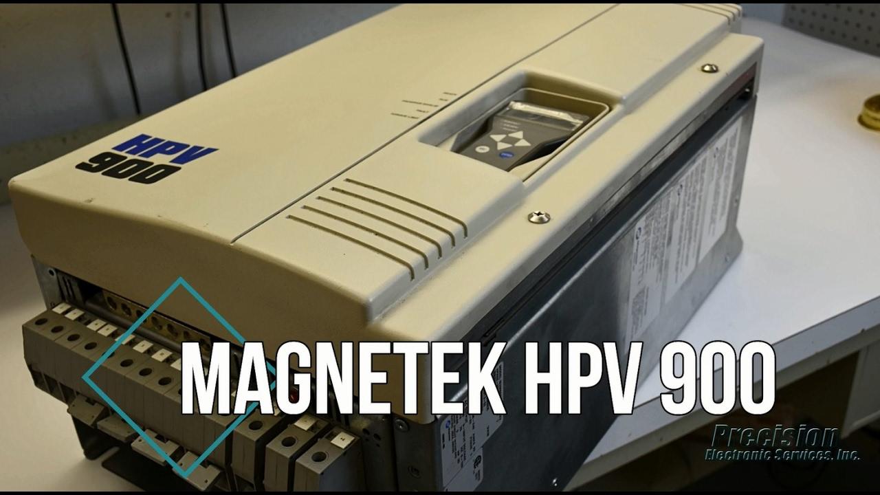 Magnetek HPV 900 Repair on