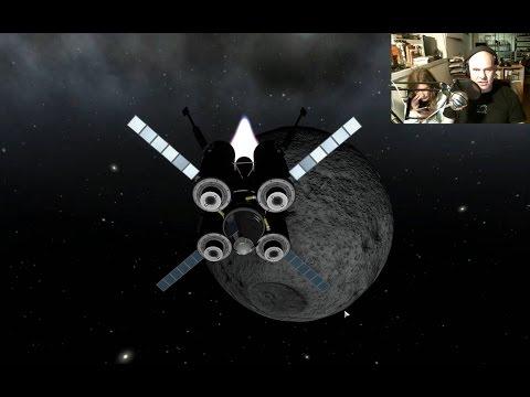Livestream - Mun Landing Without Instrument