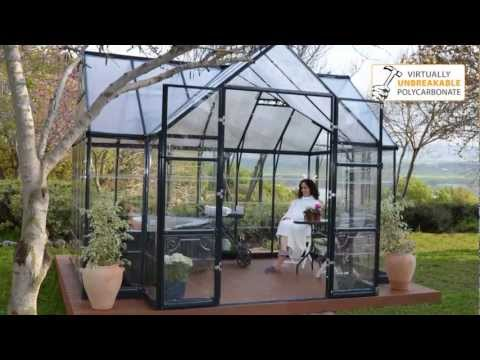 Greenhouse Kit Garden Chalet Victory™ By Palram