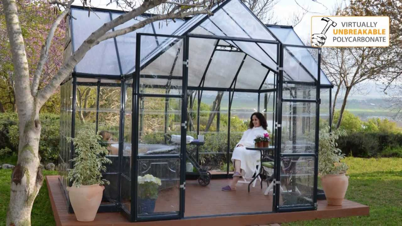 Greenhouse Kit Garden Chalet Victory By Palram Youtube