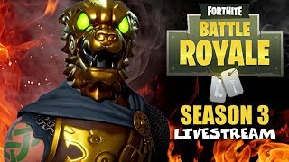 New Battle Hound Skin! - Fortnite Battle Royale Gameplay - Solo - Xbox One X - Season 3 - Livestream