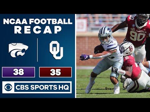 Kansas State Vs Oklahoma Recap: Wildcats Upset #3 Sooners For 2nd Straight Season   CBS Sports HQ