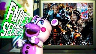 FNAF 6 🌟THESE SECRETS & MINIGAMES CAN SOLVE FNAF🌟 Five Nights at Freddy