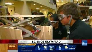 Weather Channel covers Science Olympiad