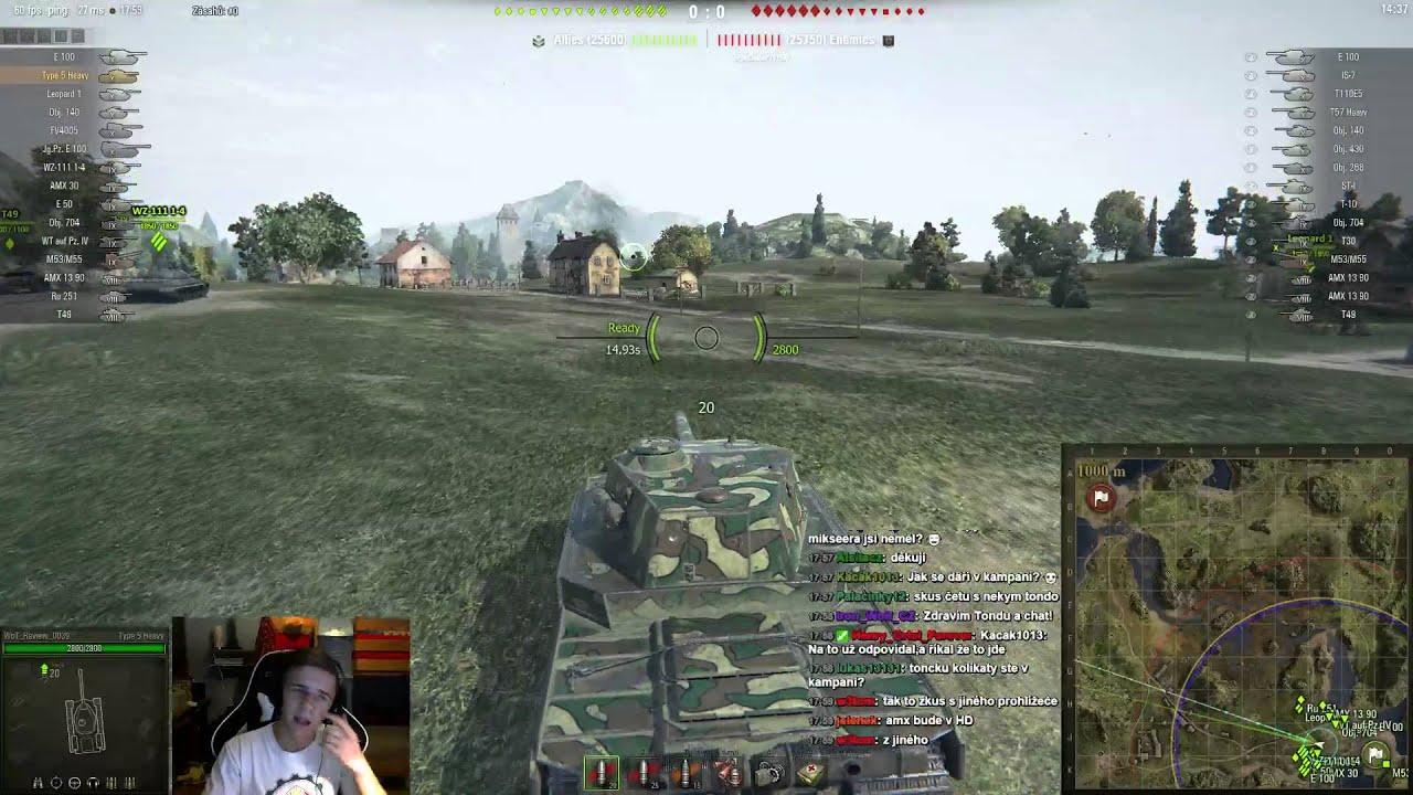 Download Záznam streamu s Type 5 Heavy