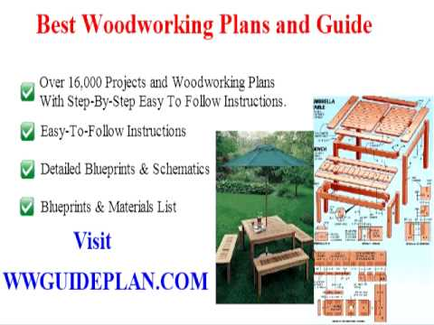 free wood project plans for outdoor