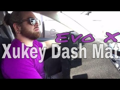 Ep. 067 - Xukey Dash Mat Install Lancer Evo X