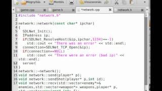 fps game opengl sdl c tutorial 12 multiplayer networking server
